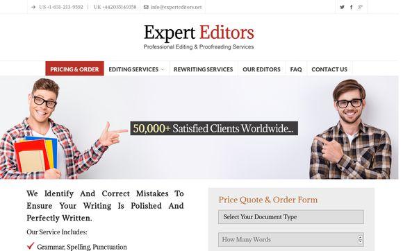 Expert Editors