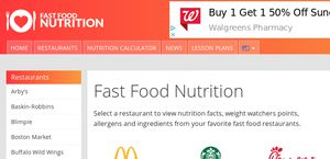 fast food nutrition.org Fastfoodnutrition.org Reviews - 1 Review of Fastfoodnutrition.org ...