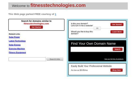 Fitnesstechnologies