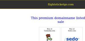 Flightsticketgo