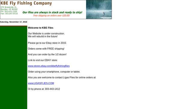 KBE Fly Fishing Company