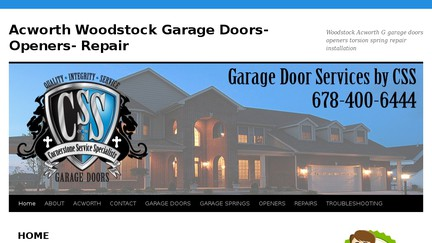 Garagedoorsrepairwoodstockga.com