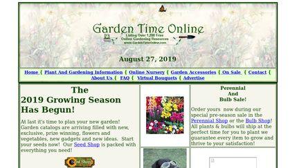 Garden Time Online
