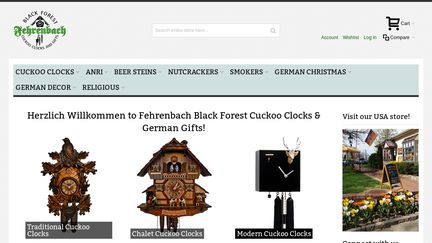 German clocks and gifts