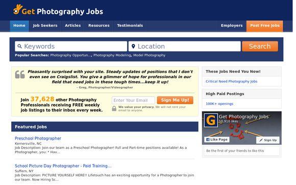 Get Photography Jobs