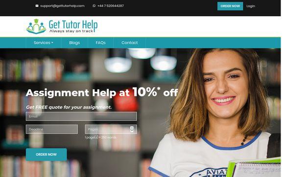 Get Tutor Help