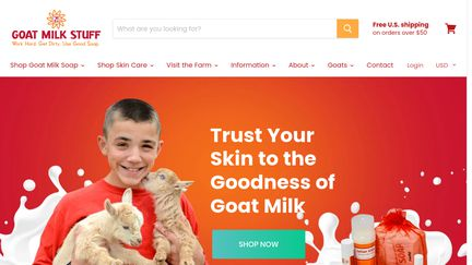 Goats Milk Stuff
