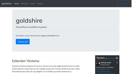 Goldshire.net