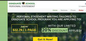 GraduateSchoolPersonalStatement