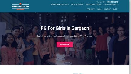 Anand Girls PG Near MG Road
