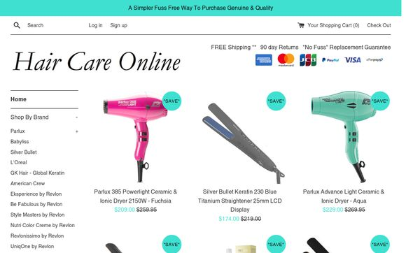 Hair Care Online