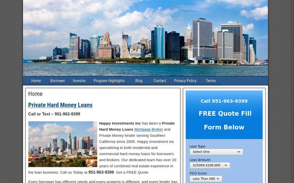Happy Investments Inc.
