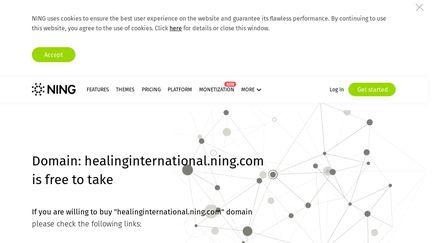 Healinginternational.ning.com