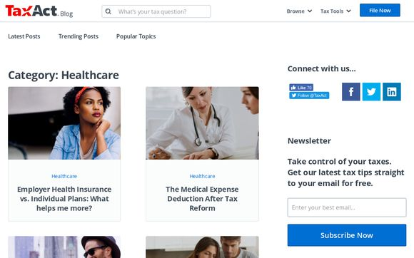 Tax Act Blog