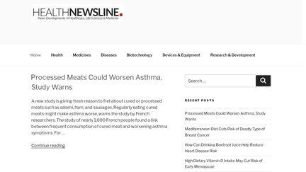 Health Newsline