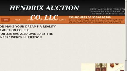 Hendrix Auction Co