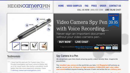 HiddenCameraPen