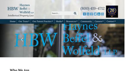 Haynes Beffel & Wolfeld LLP