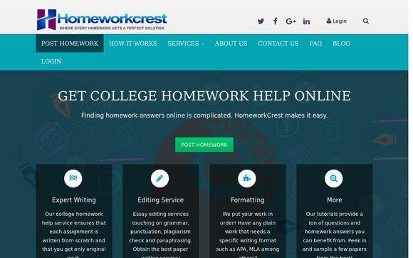 Homeworkcrest