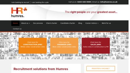 HumresLogistics.co.uk