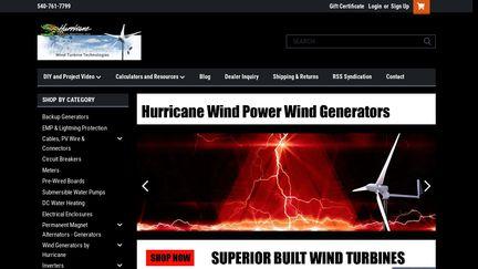 Hurricane Wind Power