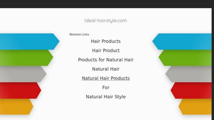 Ideal-hairstyle