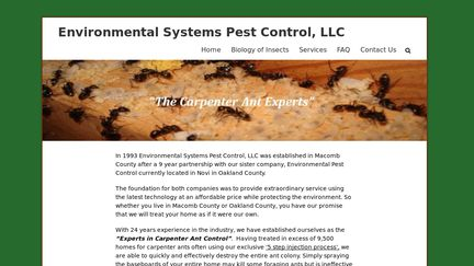 Environmental Systems Pest Control