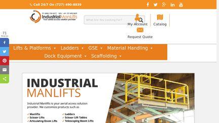 Industrial Man Lifts