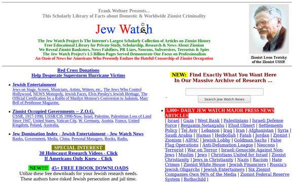 Jew Watch News