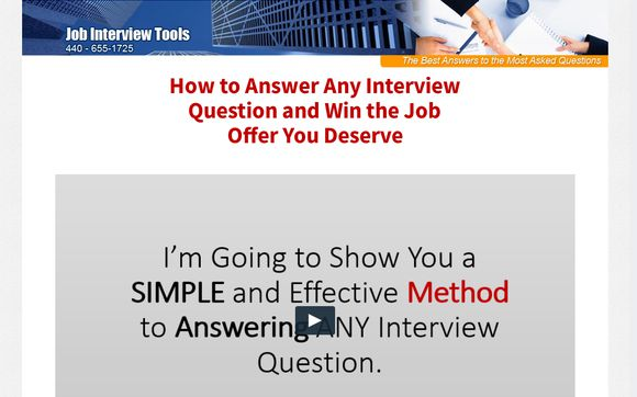 Job Interview Tools