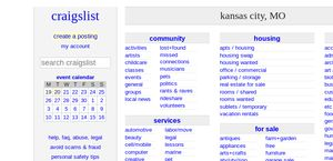 craigslist kansas city classifieds