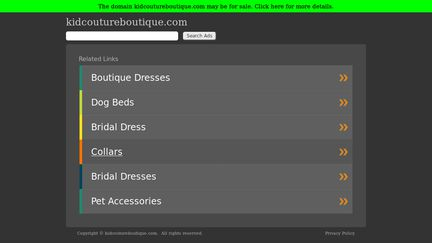 Kid Couture Boutique