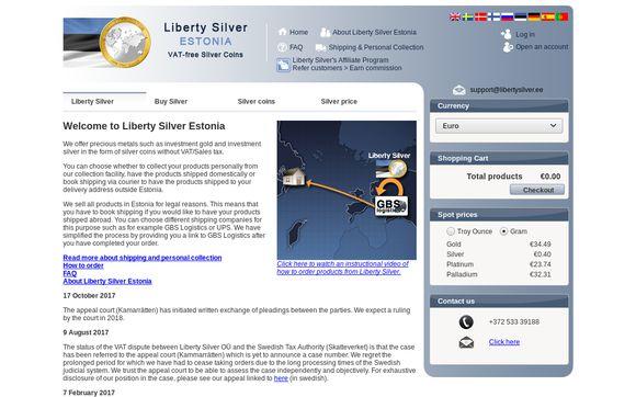 LibertySilver.ee