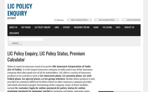 LICPolicyEnquiry