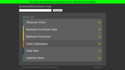 Linen and Furniture