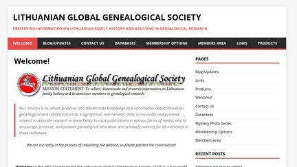 LithuanianGenealogy.org