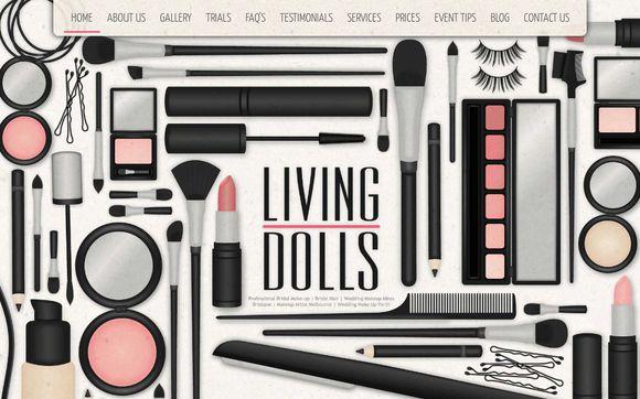 LivingDollsMakeUpArtistry.com.au