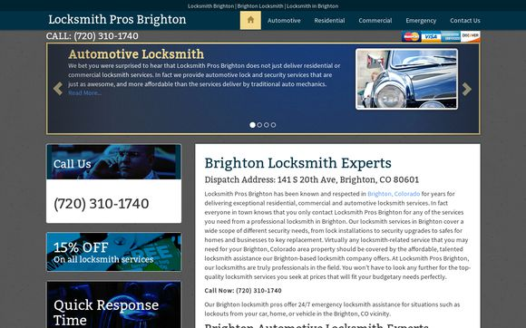 Locksmith Pros Brighton