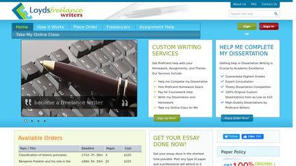 Loyds Freelance Writers