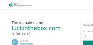 Luckinthebox.com