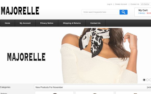 Majorelle Clothing Outlet UK