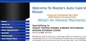 Moshesautocare.com