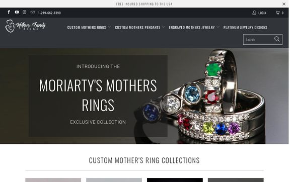 Mothers Family Rings