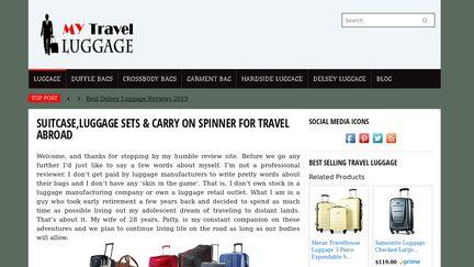 MyTravelLuggage
