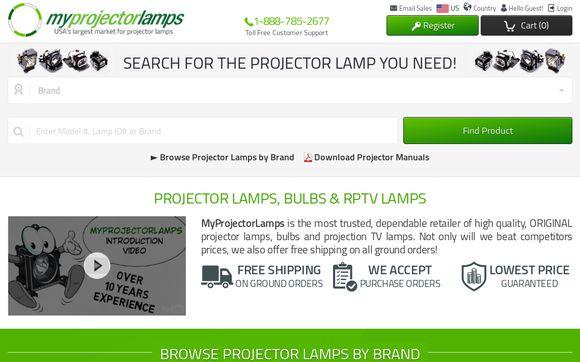 MyProjectorLamps