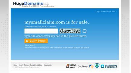 MySmallClaim.com