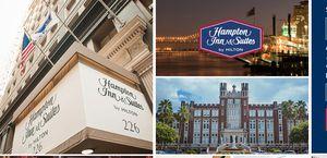 New Orleans Hampton Inns