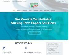 Nursing Term Paper Help