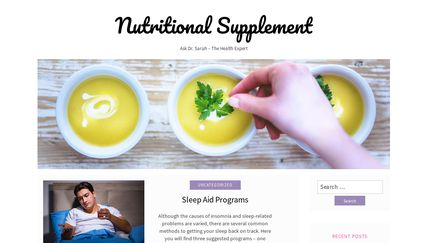 Nutritionalsupplementproduct