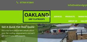 Oaklandgrpflatroofs.co.uk
